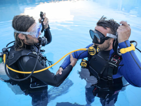 Learn to Dive in Hurghada