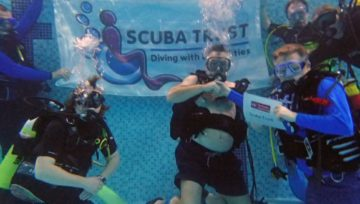 Dive UK Hurghada are please to be a supporter of Scuba trust